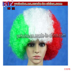 Lace Front Wig 70s Disco Costumes d'Halloween perruque afro (C3018)