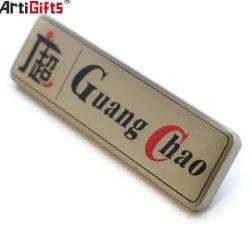 Hot Sale magnétique personnalisée réutilisables Badge en métal