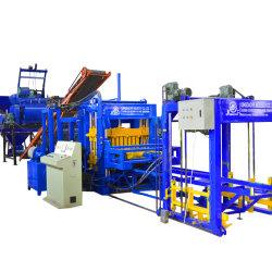 Qt ciment hydraulique6-15 façonner les cendres volantes fabricant de briques de 6 pouces de machine à fabriquer des blocs creux