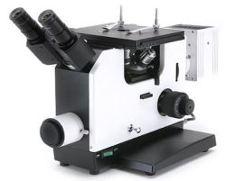 Het omgekeerde Metallurgische Tafelblad van de Microscoop keerde Metallurgische Microscoop xjp-16A om
