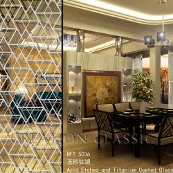 Напряжение питания на заводе Квингдао декоративная печать Silk-Screen стекла