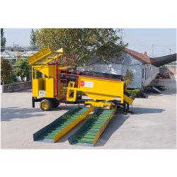 충적 금 세척 플랜트 또는 회전식 원통의 체 스크린 기계 또는 채광 장비
