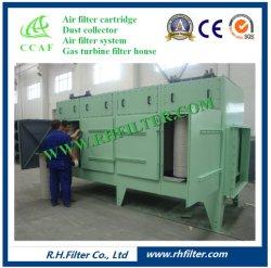 産業塵の洗剤のための縦のカートリッジ収ジン機