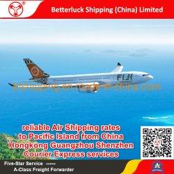 de betrouwbare tarieven van Air Shipping aan Tuvalu Funafuti (FUN) Luchthaven van China Hongkong Guangzhou Shenzhen