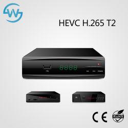 FTA DVB-T2 HD TV Box récepteur TV numérique par satellite
