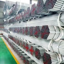 材料Q195 Q215 Q235のスケジュール40標準BS1387 ASTM A500 ASTM A795 ASTMのA53によって電流を通される鋼鉄管