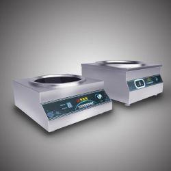Matériel de cuisine cuisinière induction Commercial acier inoxydable multifonction