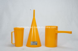 De model Trechter Visicometer van het Moeras MLN met Plastic Metende Kop 946ml