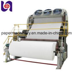 Máquina de Fabricación de papel higiénico (1880mm) , Venta caliente planta de reciclaje de residuos de papel