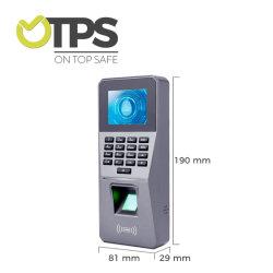 TCP/IPかWiFi 2.8inchの生物測定の指紋の時間出席機械RFIDカードの指紋の時間レコーダーシステム