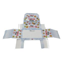 Décoration de luxe les emballages papier boîte de bonbons / biscuits l'emballage