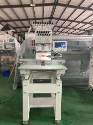High Speed Automatic Factory multifunctionele computergestuurde borduurnaaiwerk met één kop Machine Kqm met borduurmachine
