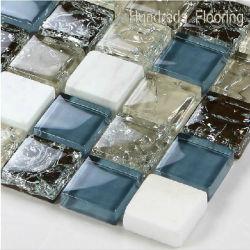 Piso de mosaico de parede&/Cristal e mosaicos de Pedras/Mosaico de vidro/Mosaico Tile (HGM212)