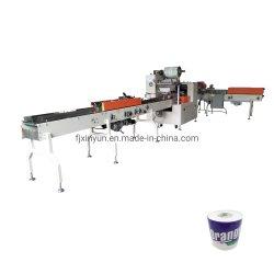 Automatisch das Rollentoilettenpapier aussondern, das Maschinerie einwickelt