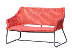 معيار عادية خارجيّة حديقة ثبت أريكة مع [ب] [رتّن] مستديرة