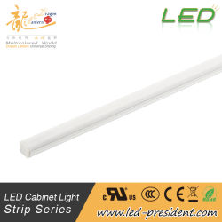 Friso do painel de LED personalizados Luminária Linear da barra de luz LED de perfis de alumínio para luz de armário Linear Closet Roupeiro Showcase armário