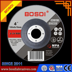 """China Venda quente T27 4""""/4.5/5""""/6""""7""""/9"""" Rebolos flexível de resina para o aço/alumínio/Rocha/Inox"""