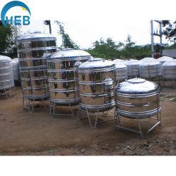 Depósito de agua de la soldadura en acero inoxidable Calentador de Agua