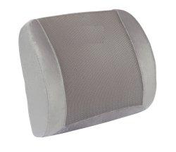 Память губкой талии опорную прокладку 3D-Mesh Eye Mask баланс жесткости для нижней части спины боль - идеально подходит для офисных кресел и сидений автомобиля