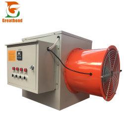 Riscaldatore di aria elettrico tubolare della piccola azienda agricola mobile del ventilatore