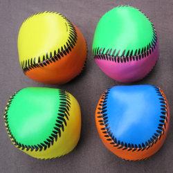 Bille molle de PVC de forme de base-ball avec le remplissage de coton de pp