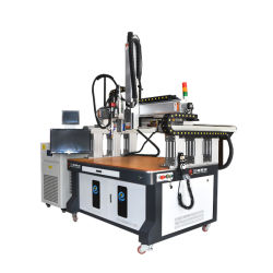 Láser automático de la soldadora con láser para el IPG nueva energía del grupo de la batería de litio Precio a granel