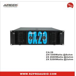 5000W CA20 2 ohm versterker met hoog vermogen/Stage-apparatuur PRO Audio Voor subwoofer