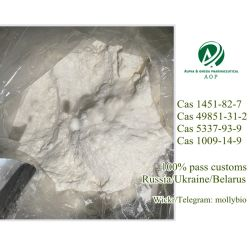 100% التوصيل الآمن 2-برومو-4-ميثيل بروبيون CAS 1451-82-7/2-Iodo-1-P-Tolylpropan-1-One CAS 236117-38-7/49851-31-2/5337-93-9/1009-14-9