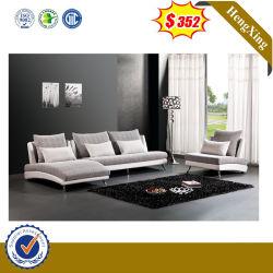 Großhandelspreis-europäisches Eckwohnzimmer-Möbel PU-Leder 1+1+3 Seater Gewebe-Sofa