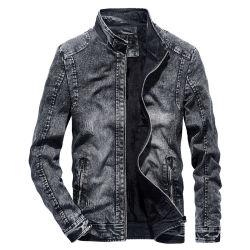 Commerce de gros Mens Plus Size Fashion Fourrure Veste Vintage Denim