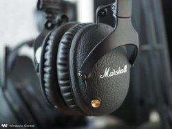 Acton Major2 Bluetooth 무선 모니터 헤드폰 헤드셋 원격 마이크 마셜 블랙 스피커