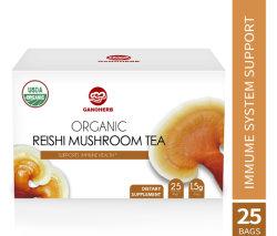 USDA 유기 순수한 Reishi 버섯 차