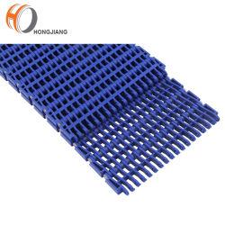 La plastica Rr900 ha alzato la cinghia modulare della nervatura/cinghia modulare superiore piana/la cinghia modulare griglia a livello