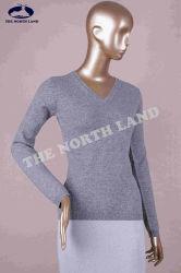 Pullover Csw140909L del collo del cachemire V delle signore