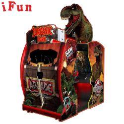 Säulengang-Spiel-Maschine Jurassic Park des Innenvideo-55 '', das Spieler-Münzeneintragfaden-Gewehr-Simulator der Spiel-Maschinen-2 für Verkauf schießt
