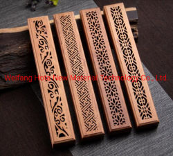 Factory Direct Wooden Wierook 3 lagen Design Bamboo Houten Wierook Brander