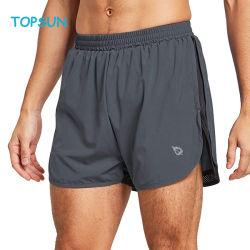 Calções de running rápidos de 15 cm para homem, calções de ginásio Athletic
