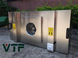 SUS 304 motores de FFU Ce el cuerpo y la unidad de filtro de ventilador con filtro HEPA campana de flujo laminar dentro de la venta caliente