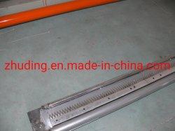 Auf lager KN95 N95 mittlere Schicht-faltendes Filter-Filzes-Faser-hydrophobes Heißluft-nicht gesponnenes Baumwollgewebe, das Maschine herstellt