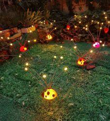 바람 옥외 조경 장식적인 밤 램프 LED 개똥벌레 정원 빛에서 흔들리는 2020의 새로운 디자인 빛