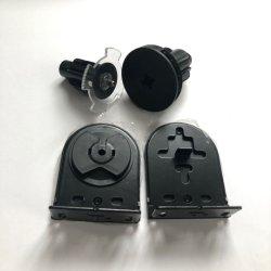 K55-38mm negro fijado sin embrague de la desaceleración de los componentes de las persianas de rodillo, para que las persianas