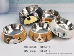 Diseñar productos para mascotas cachorro de Perro de porcelana de la calidad del alimentador tazones
