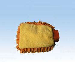 Super Microfibra absorvente Pelúcias Porta-luvas para limpeza e polimento de Automóveis (NC1407)