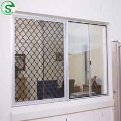 Guangzhou Großhandel Aluminium Amplimesh pulverbeschichteten Grill für Fenster Sicherheit