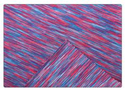 スポーツ・ウェアのYogawearファブリック乾燥した適合95ポリエステル5スパンデックススペース染料ファブリック