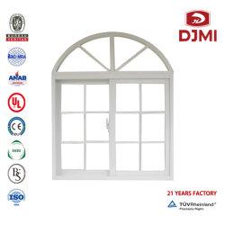 多機能式電着窓商用品質保証ウォータープルーフスライドウィンドウ ガラスアルミニウムプロファイル