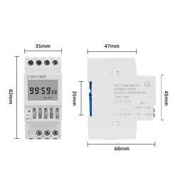 Реле времени цифровые программируемые установки таймера переключателя освещения программиста с жидкокристаллическим дисплеем 12V 220V