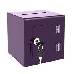 Casella da tavolino di plastica acrilica su ordinazione all'ingrosso dell'accumulazione di suggerimento con la serratura ed il portello