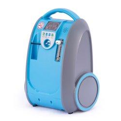CE APPROUVÉ KSM-5 5L d'oxygène portatif de respiration concentrateur avec le CECT EIPD moléculaire pour usage médical