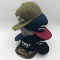 Nettoyer le design classique Snapback réglable Hat Six-Panel brodé à la construction